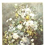 Print-Spring Bouquet by Renoir 1969