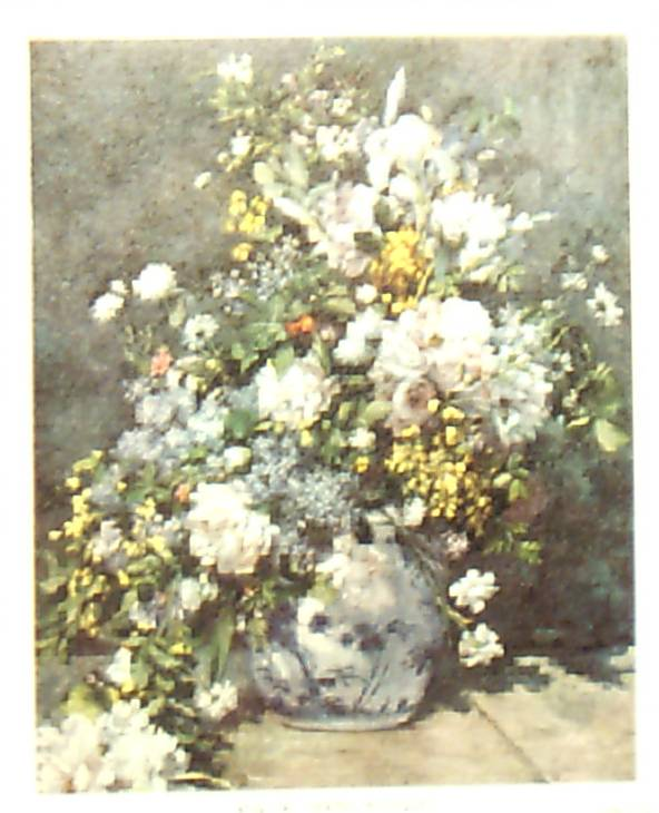 Print-Spring Bouquet by Renoir 1969