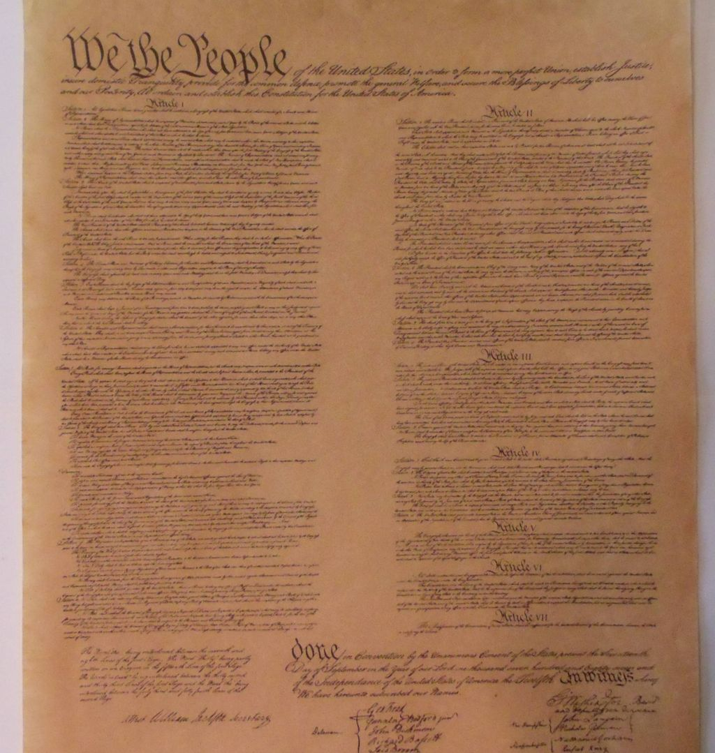 united states constitution and article The constitution of the united states established america's national government and fundamental laws, and guaranteed certain basic rights for its citizens.