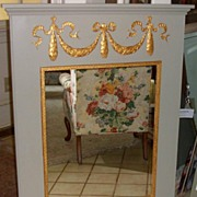 Mirror in Pineapple Trumeau Designed