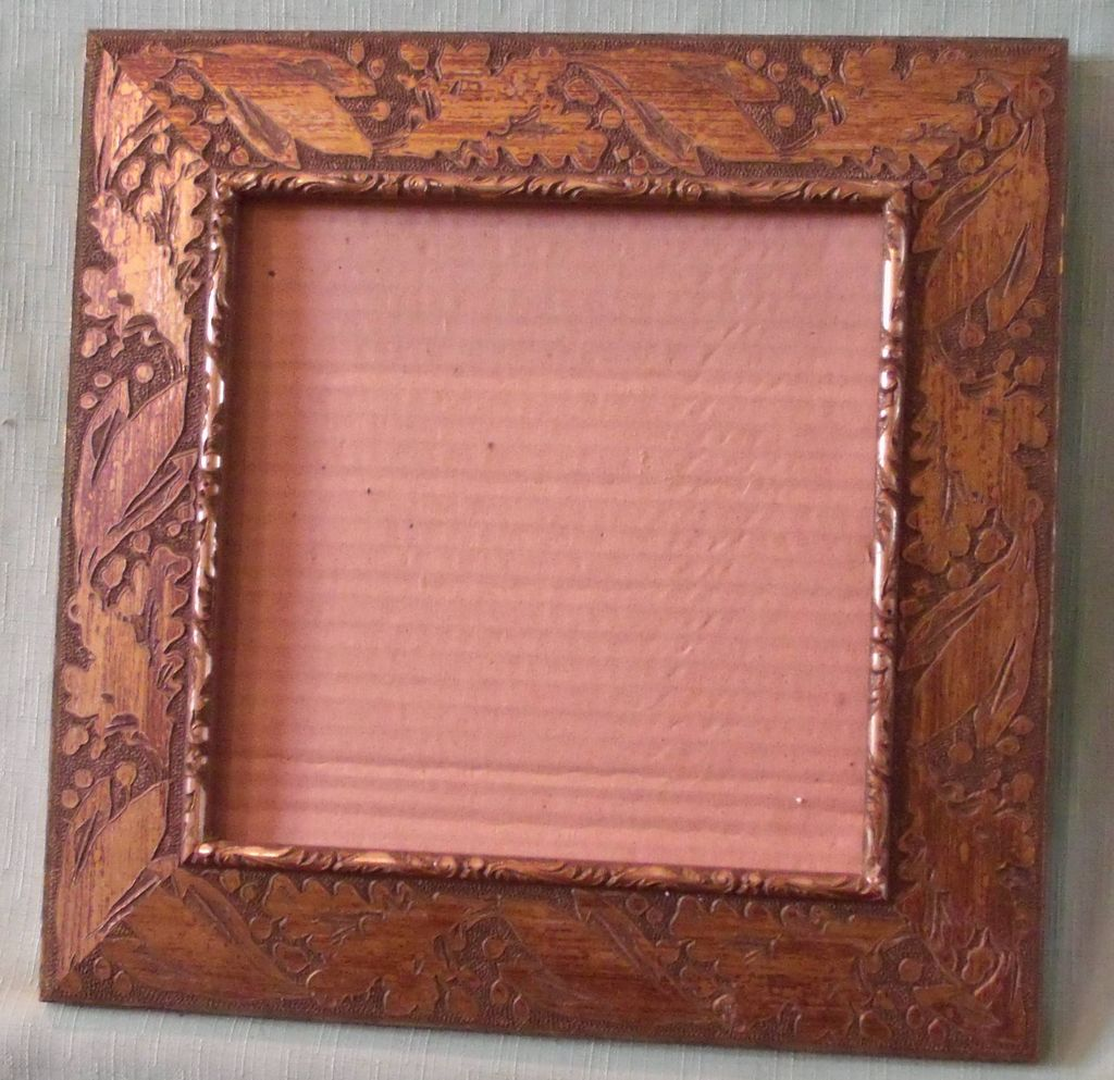 Picture Frame with Vine Pressed Wood