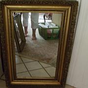 Mirror Gilded Gesso Design