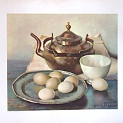 Vintage Collection of Hank Bos Kitchen Prints
