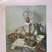 Hank Bos Fruit Stilllife Lithograph Prints