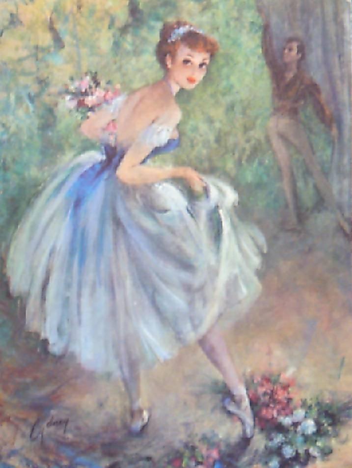 Ballet vintage prints