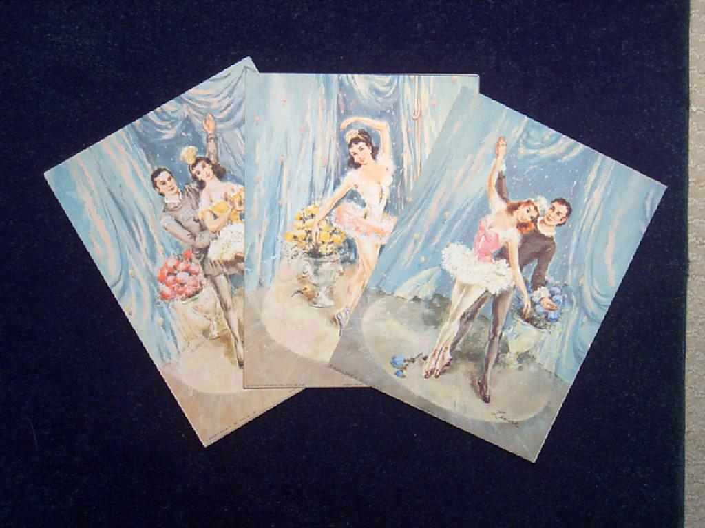 Ballet Lithographs by Lenore
