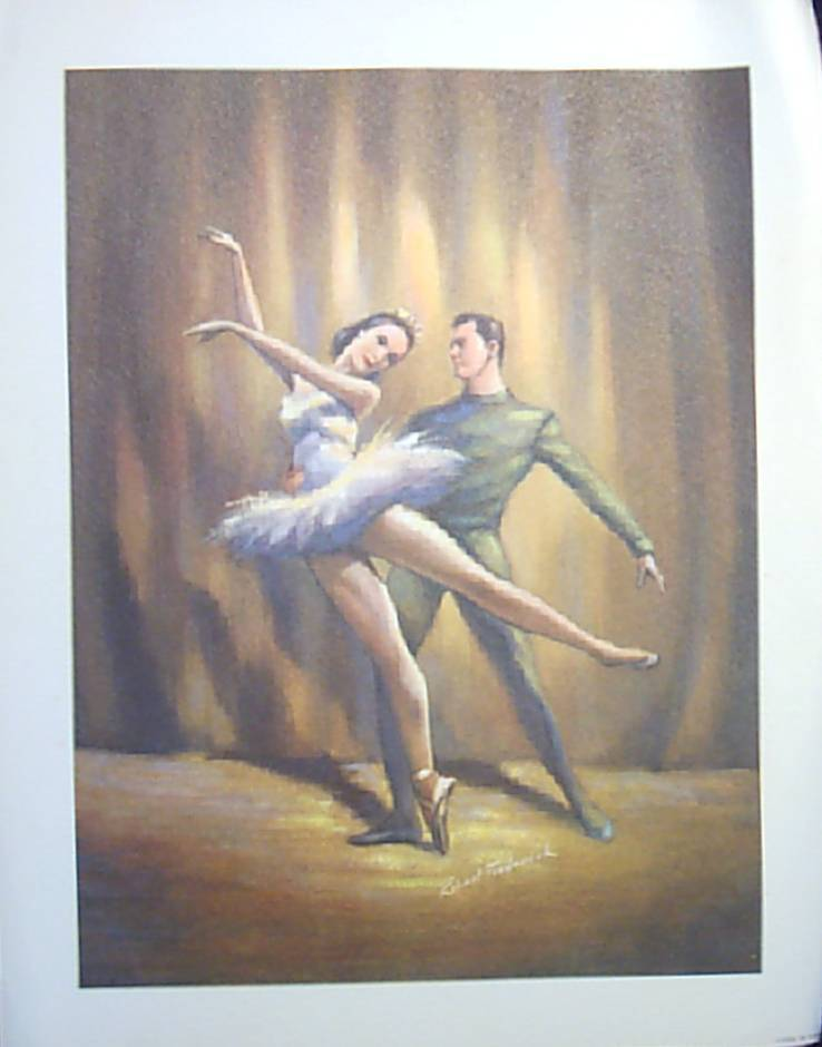 Frederick Ballerina Lithographs-Set of Three (3)
