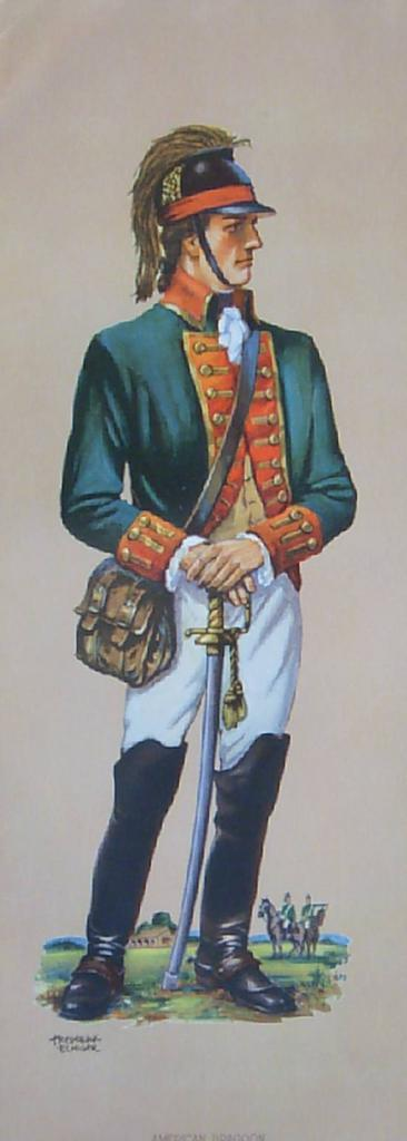 Soldier Uniforms Costumes-Vintage Prints by Frederick Elmiger
