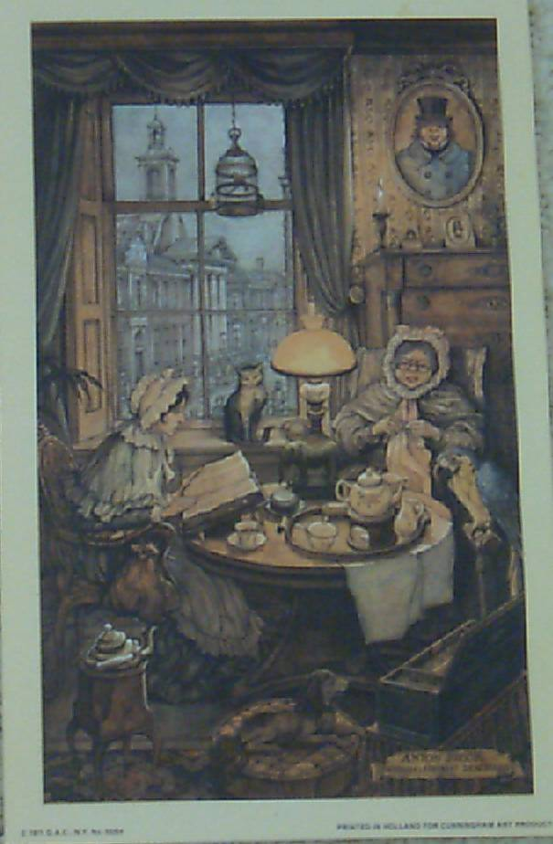 Tea Party by Anton Pieck