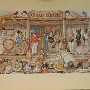 Circus by Anton Pieck