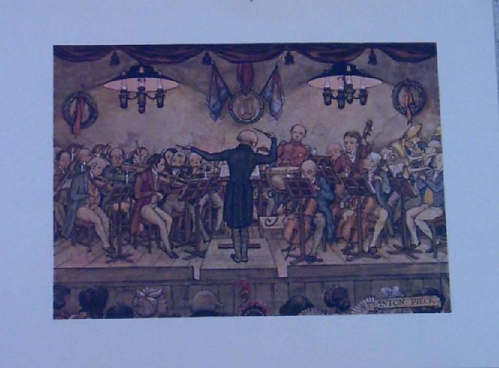 The Orchestra by Anton Pieck