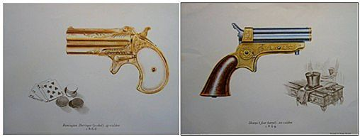 Gun Vintage Lithographs (2)