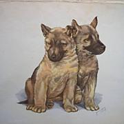Vintage Animal Print by Grace Lopez