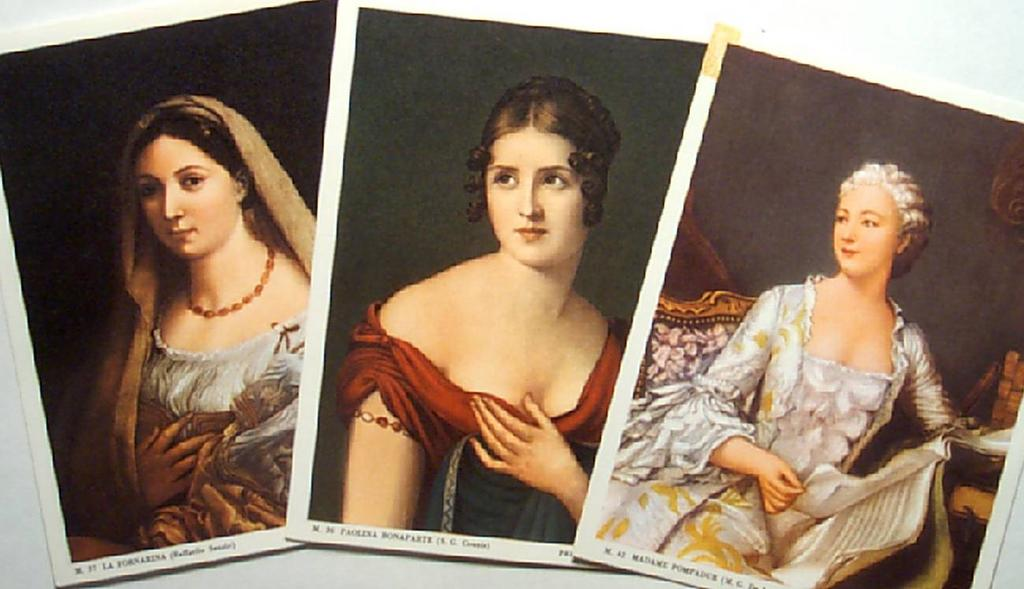 Vintage Ladies' Portraits
