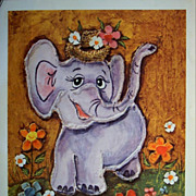 Animal Art-Children's Art -Animals Prints by Edna Vierra