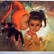 """Children's Portrait """"Secrets"""" by Runci"""
