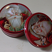Coasters Christmas Santa Design