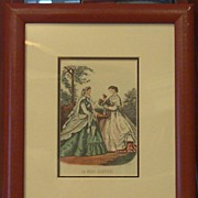 Fashion Ladies Framed Prints