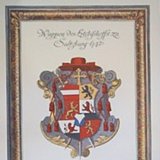 Salsburg, Germany-Coat of Arms; City of Salsburg