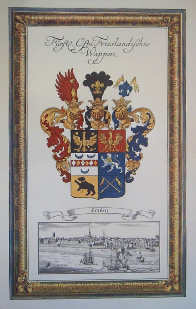 German Coat of Arms-Emden Germany