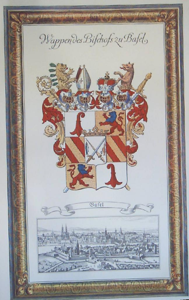 Coat of Arms German Town of Bafel