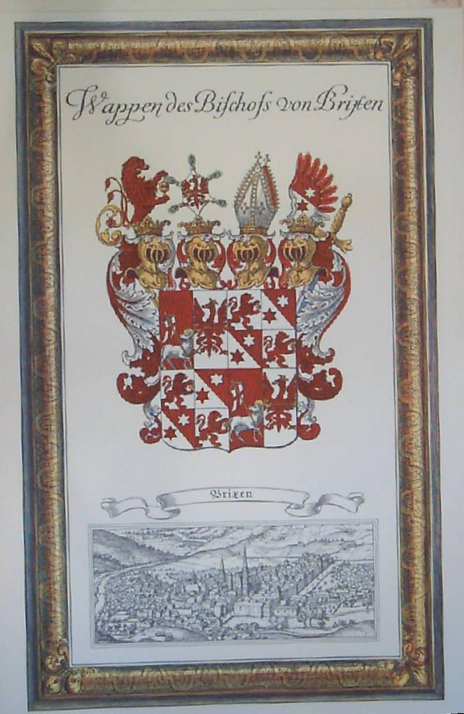 Coat of Arms-Brixen Germany