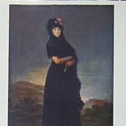 Goya-Portrait of the Marquesa de las Mercedes
