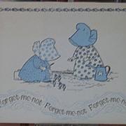 Bonnet Girls Card