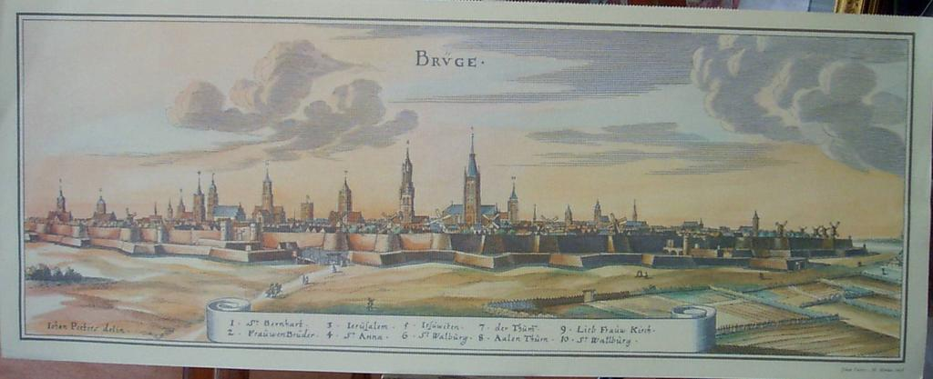 Engraving Brvge Iohan Petters delin