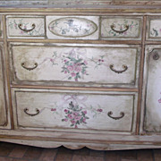 Buffet-Handpainted Furniture
