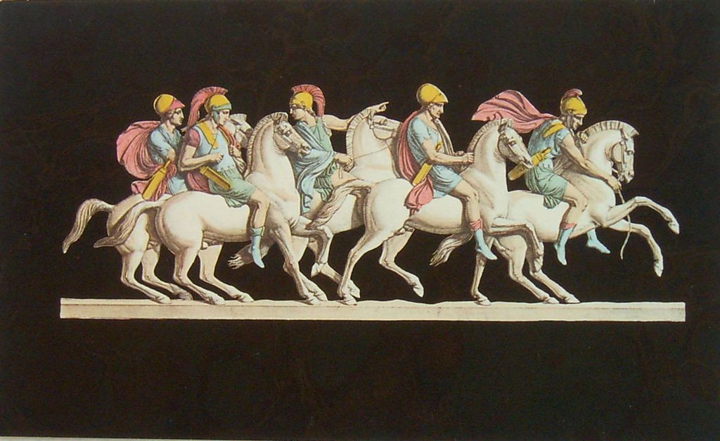 Greek Methology Horses-Lithographs