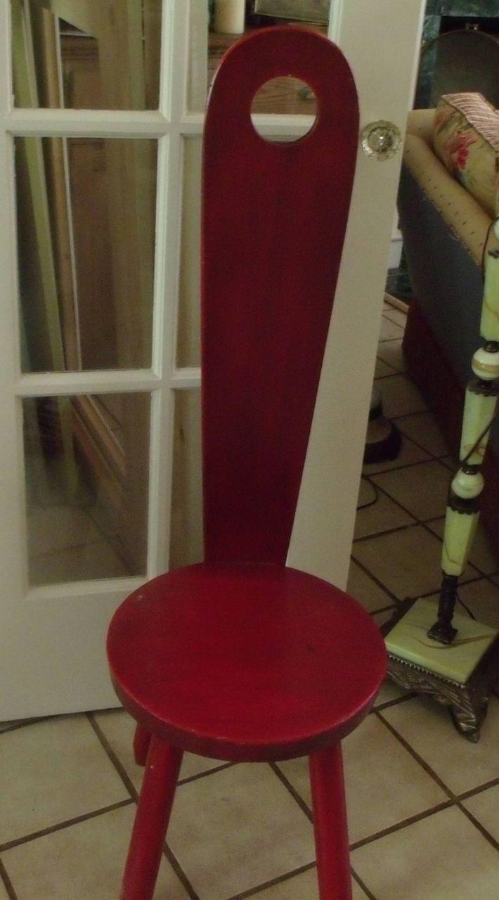 Settling Chair or Milking Stool
