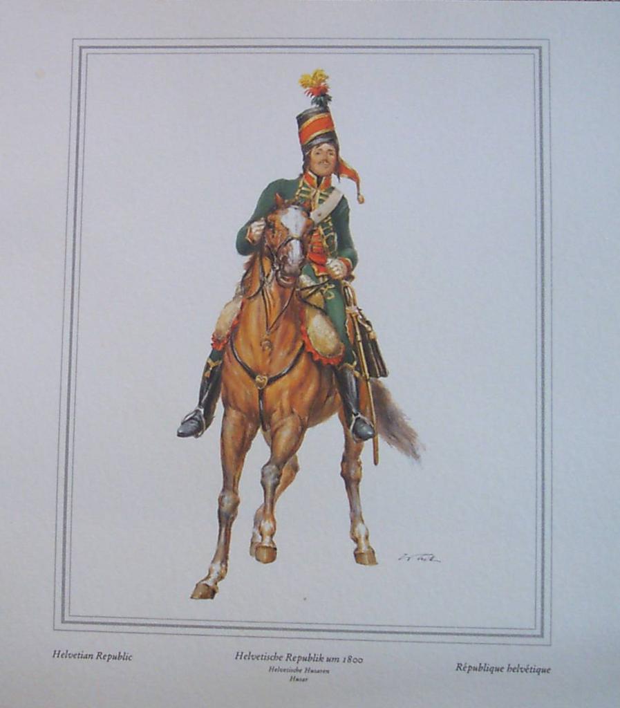 Soldier Officer-Helvetian Rebublic