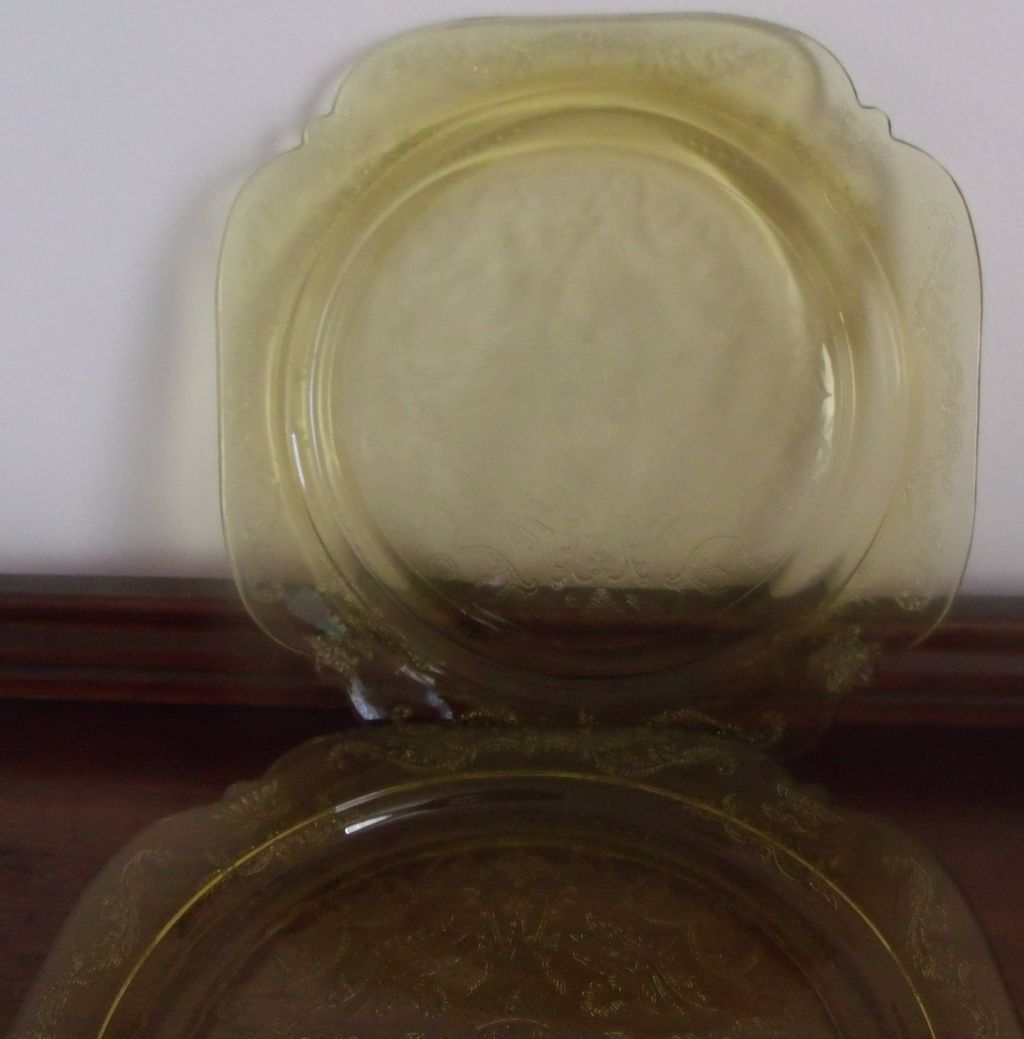 Amber Glass Dinnerware
