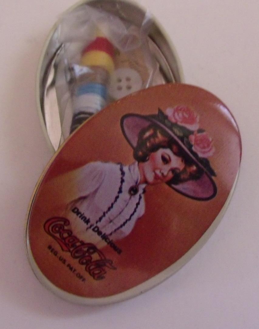 Coco Cola Sewing Tin