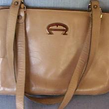 Aigner Tan/Beige Handbag