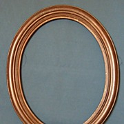 Oval Picture Frame Guilded