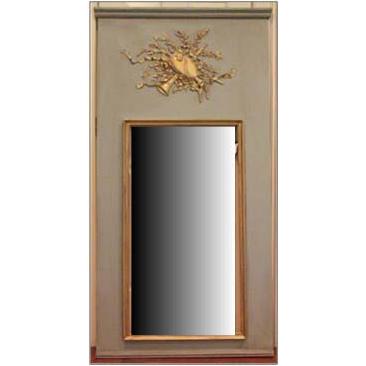 Trumeau Musical Motif Mirror