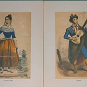 Pannemaker Serenade- Engravings Lithographs-Spanish Art
