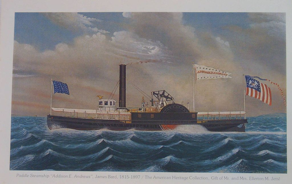 James Bard Addison E. Andrews-Paddle Steamship