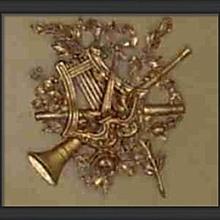 Trumeau Onlay Plaque 18 x 18