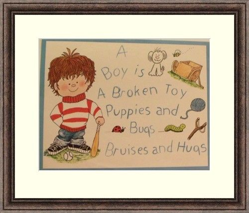 Childrens Art -Poems-Little Girls-Little Boys