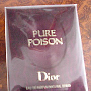 Christian Dior Pure Poison Eau De Parfum Unopened in Original Box