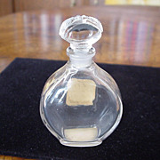 Caron Or Et Noir Very Rare, ca 1949 Empty Perfume Bottle