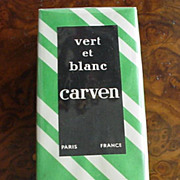 Carven Vert Et Blanc Parfume in original box, never opened