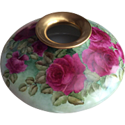 Huge Limoges Squat Vase