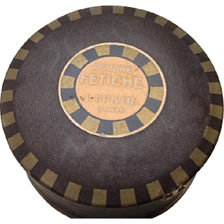 L T Piver Fetiche Powder. Very old and unusual to find a full box