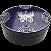 Attractive metal vanity box