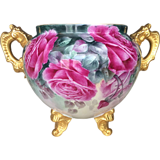Exquisite Limoges Jardiniere- 30% Off All Porcelain Sitewide