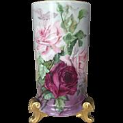 Stunning Limoges Vase